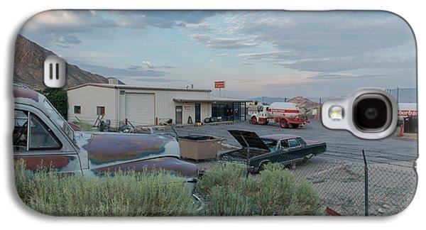 Landmarks Photographs Galaxy S4 Cases - Tonopah Galaxy S4 Case by Christian Heeb