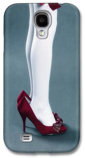 Girl Galaxy S4 Cases - Too Big Shoes Galaxy S4 Case by Joana Kruse