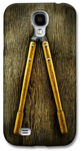 Tools On Wood 34 Galaxy S4 Case by YoPedro