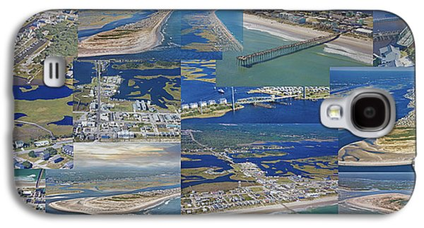 Timing Galaxy S4 Cases - Topsail Island History from Above  Galaxy S4 Case by Betsy C  Knapp
