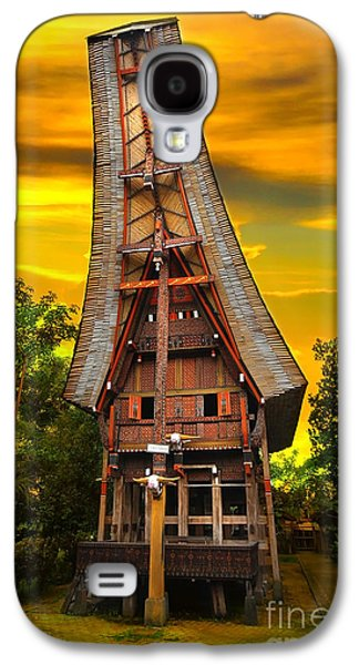 House Galaxy S4 Cases - Toraja Architecture Galaxy S4 Case by Charuhas Images