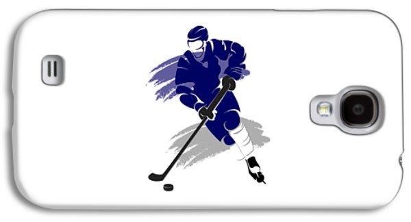 Toronto Maple Leafs Player Shirt Galaxy S4 Case by Joe Hamilton