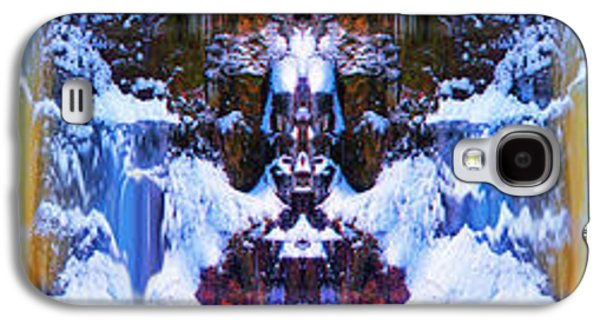 Dreamscape Galaxy S4 Cases - Totem Colors in a Winter Dreamscape Galaxy S4 Case by Wayne King