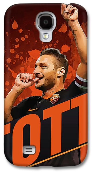 Totti Galaxy S4 Case by Semih Yurdabak
