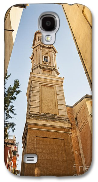 Landmarks Photographs Galaxy S4 Cases - Tower of Saint Francois in Nice Galaxy S4 Case by Elena Elisseeva