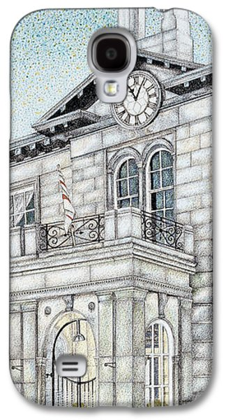 2009 Galaxy S4 Cases - Town Hall Clock Kirkby Lonsdale Cumbria Galaxy S4 Case by Sandra Moore