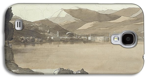 Town Of Lugano, Switzerland, 1781  Galaxy S4 Case by Francis Towne