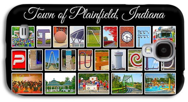 Town Of Plainfield Indiana Galaxy S4 Case by Dave Lee