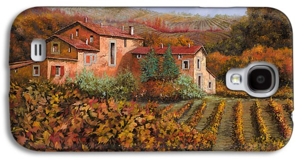 Guido Galaxy S4 Cases - tra le vigne a Montalcino Galaxy S4 Case by Guido Borelli