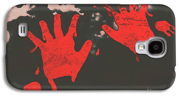 Trace Of A Serial Killer Galaxy S4 Case by Jorgo Photography - Wall Art Gallery