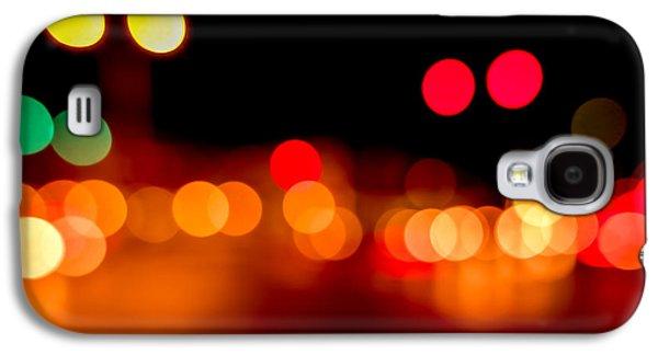 Traffic Lights Number 5 Galaxy S4 Case by Steve Gadomski