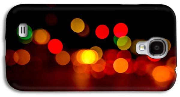 Traffic Lights Number 8 Galaxy S4 Case by Steve Gadomski