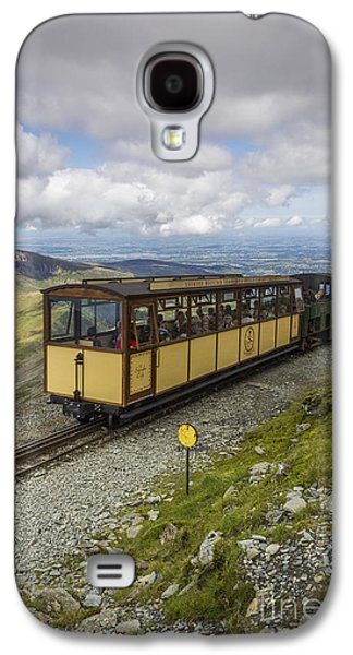 Transportation Photographs Galaxy S4 Cases - Train To Snowdon Galaxy S4 Case by Ian Mitchell