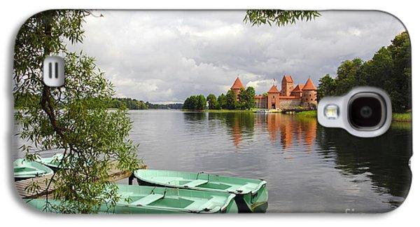 Fantasy Photographs Galaxy S4 Cases - Trakai Island Castle Galaxy S4 Case by RicardMN Photography