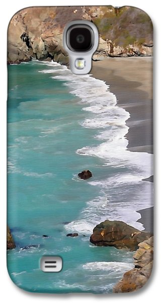 Big Sur Ca Galaxy S4 Cases - Tranquil Big Sur Galaxy S4 Case by Art Block Collections
