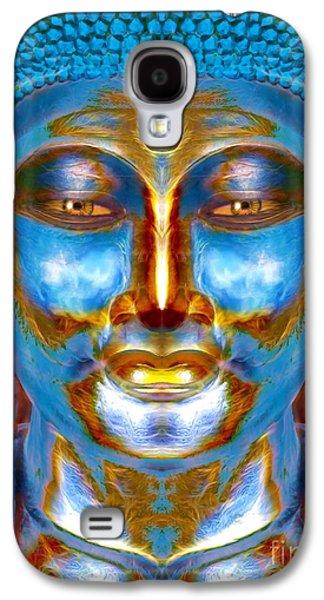 Tranquil Buddha Galaxy S4 Case by Khalil Houri