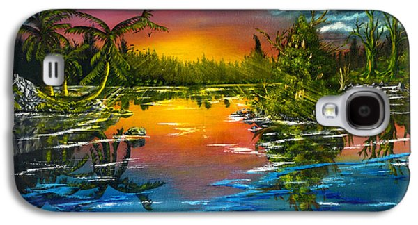 Tranquil Lake Galaxy S4 Case by Vincent Keele