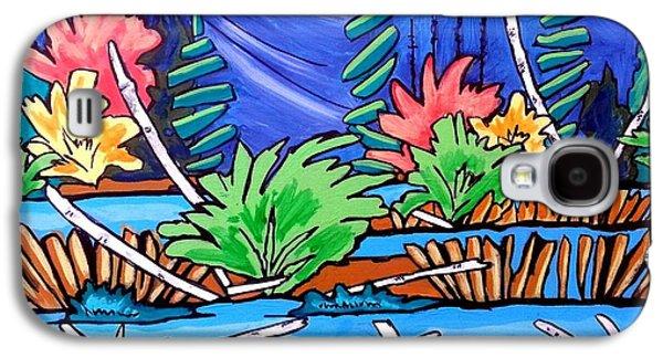 Landscape Acrylic Prints Galaxy S4 Cases - Tranquil Place Galaxy S4 Case by Nikki Dalton