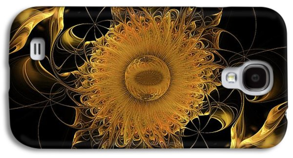 Fractal Pastels Galaxy S4 Cases - Tranquility Exists Within Galaxy S4 Case by Gayle Odsather