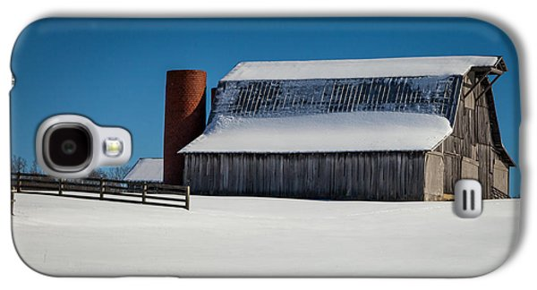 Tranquility Of Winter Galaxy S4 Case by Karen Wiles