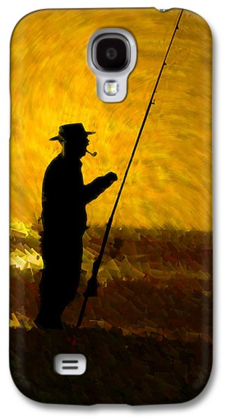 Abstract Digital Galaxy S4 Cases - Tranquility Galaxy S4 Case by Paul Wear