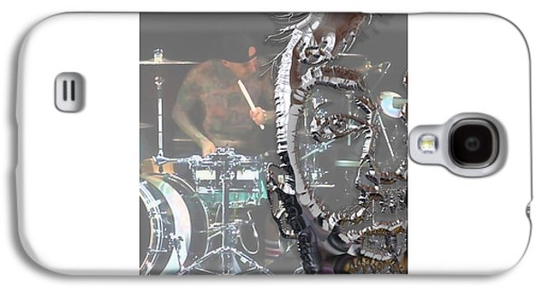 Travis Barker Blink 182 Collection Galaxy S4 Case by Marvin Blaine