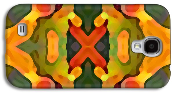 Abstract Digital Art Paintings Galaxy S4 Cases - Treasure Galaxy S4 Case by Amy Vangsgard