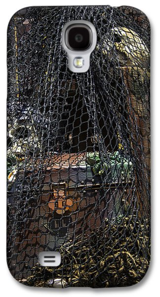 Treasure Chest In Net Galaxy S4 Case by Garry Gay