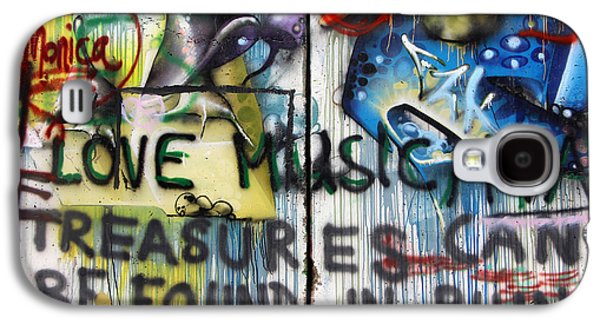 Separation Paintings Galaxy S4 Cases - Treasures Can Be Found in Ruins Galaxy S4 Case by Munir Alawi
