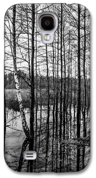 Tree Lines Galaxy S4 Case by Dmytro Korol