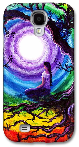 Tree Of Life Meditation Galaxy S4 Case by Laura Iverson