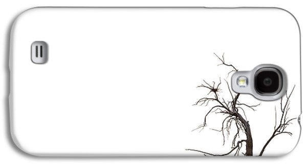 Dry Lake Galaxy S4 Cases - Tree Galaxy S4 Case by Peter Tellone