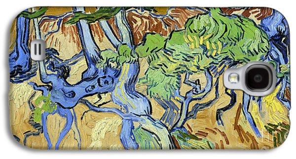 Tree Roots Galaxy S4 Case by Van Gogh