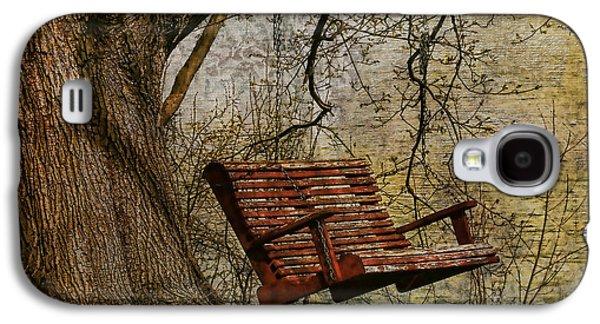 Deborah Benoit Galaxy S4 Cases - Tree Swing By The Lake Galaxy S4 Case by Deborah Benoit