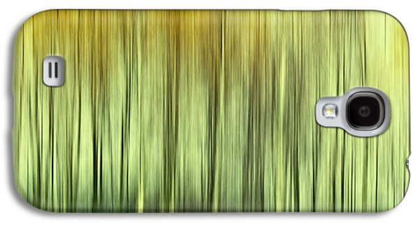Abstract Digital Photographs Galaxy S4 Cases - Trees abstract Galaxy S4 Case by SK Pfphotography