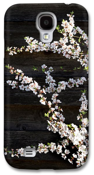 Trees - Blooming Flowers Galaxy S4 Case by Donald Erickson