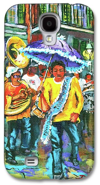 Treme Brass Band Galaxy S4 Case by Dianne Parks