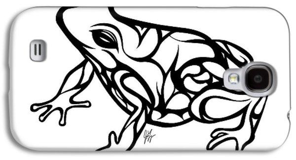 Tribal Ribbet  Galaxy S4 Case by Jamie Lynn