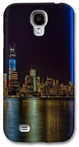 Susan Candelario Galaxy S4 Cases - Tribute In Lights Memorial Galaxy S4 Case by Susan Candelario