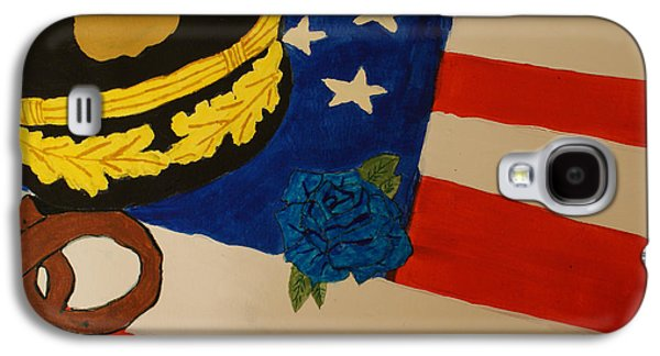 Law Enforcement Paintings Galaxy S4 Cases - Tribute To Law Enforcement Galaxy S4 Case by Elizabeth Kilbride
