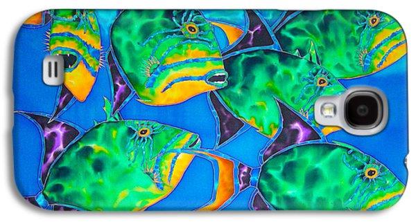 Triggerfish Postcard Galaxy S4 Cases - Triggers Galaxy S4 Case by Daniel Jean-Baptiste