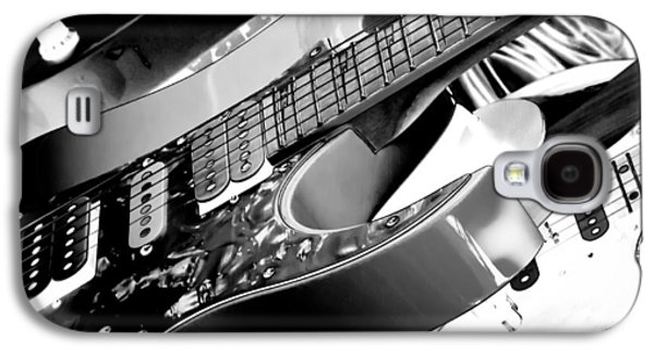 Trio Of Guitars Galaxy S4 Case by David Patterson