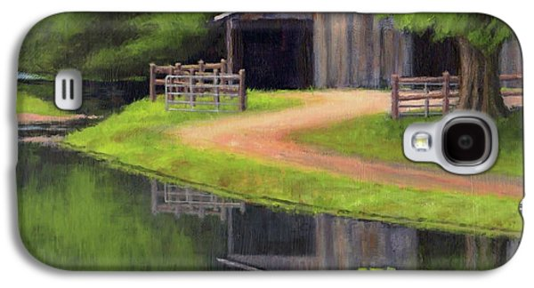 Triple L Ranch  Galaxy S4 Case by Janet King