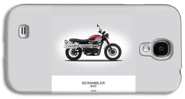 Triumph Scrambler 2015 Galaxy S4 Case by Mark Rogan