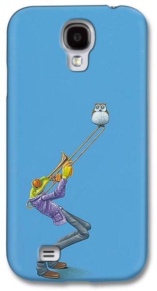 Trombone Galaxy S4 Case by Jasper Oostland