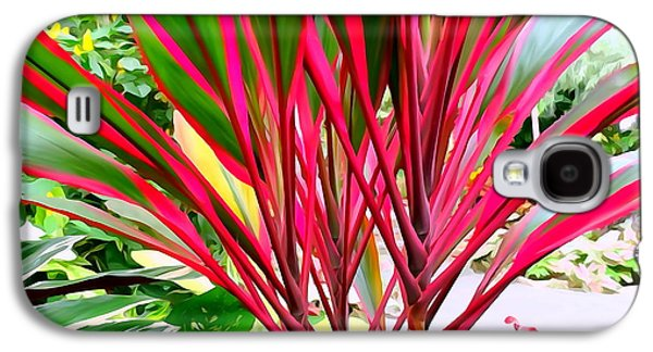 Abstract Digital Photographs Galaxy S4 Cases - Tropical Delight Galaxy S4 Case by Ed Weidman