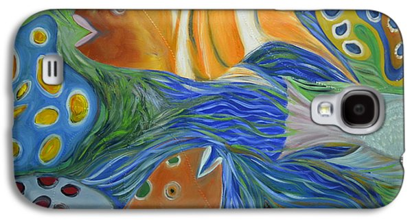 Colorful Abstract Galaxy S4 Cases - Tropical Discovery Galaxy S4 Case by Christopher Chua