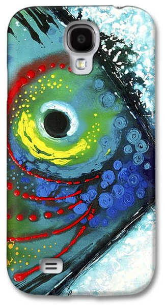 Best Sellers -  - Modern Abstract Galaxy S4 Cases - Tropical Fish Galaxy S4 Case by Sharon Cummings
