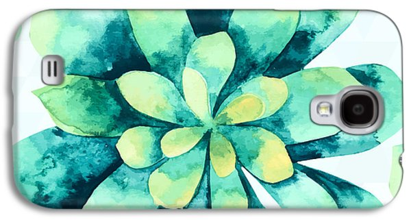 Tropical Flower  Galaxy S4 Case by Mark Ashkenazi
