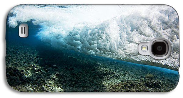 Unique View Galaxy S4 Cases - Tropical Wave Curl Galaxy S4 Case by Dave Fleetham - Printscapes